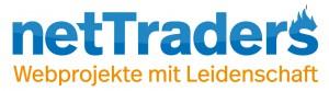 Logo der netTraders GmbH - Webprojekte mit Leidenschaft