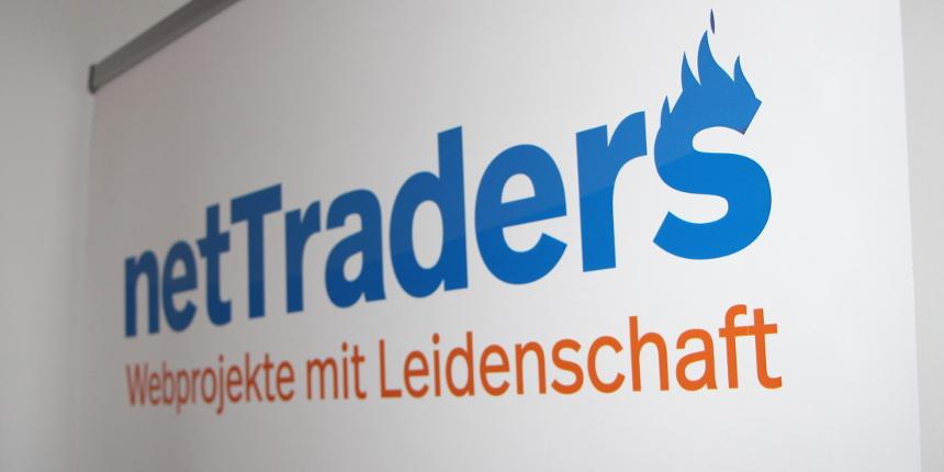 Logo netTraders GmbH - Webprojekte mit Leidenschaft